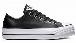 Converse Chuck Taylor All Star Lift Clean Leather Low Top čierne 561681C