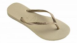 Havaianas Slim Sand Grey/Light Golden-37/38 svetlohnedé H4000030-2719P-37/38