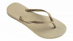 Havaianas Slim Sand Grey/Light Golden-39/40 svetlohnedé H4000030-2719P-39/40